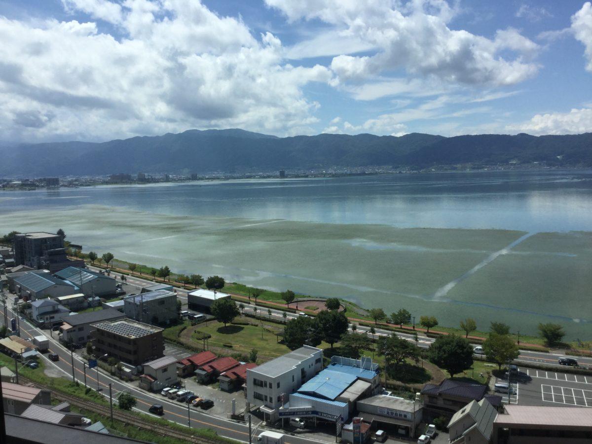 諏訪湖 見晴らし マンション